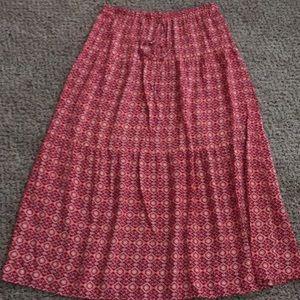 Mossimo Geometric Print Skirt
